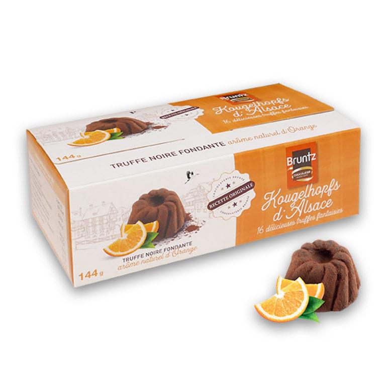 228 Ballotin Kougelhopfs d'Alsace truffes fantaisies arôme orange 144g