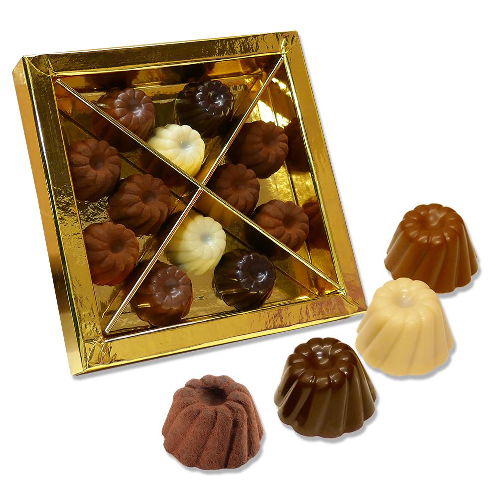 819 Coffret dégustation truffes et chocolats 110G