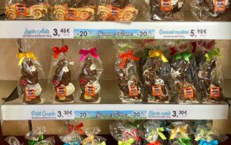 """PROMOTION ! Venez profiter de -20% sur nos moulages de la """"Gamme Ferme"""". Nos petits animaux vous attendent en boutique ? #chocolat #alsace #chocbruntz"""