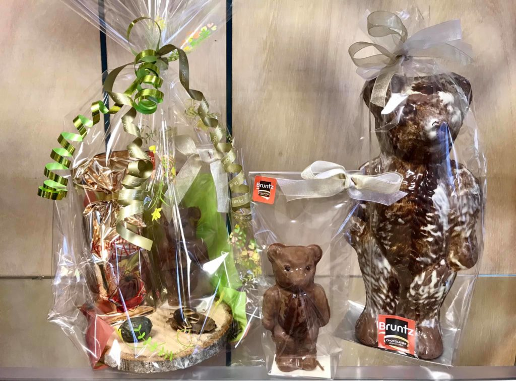 Belle offre sur les moulages en chocolat chez chocolaterie Bruntz 68 Kingersheim près de Mulhouse (Alsace)