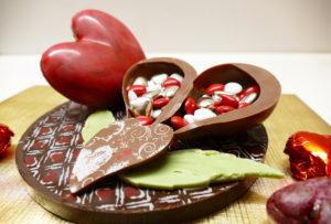 composition idée cadeau saint Valentin chocolaterie bruntz alsace