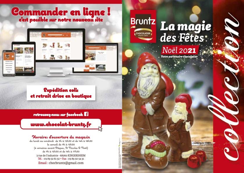 Chocolaterie Bruntz Catalogue saisonnier Noël 2021